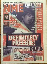 NME New Musical Express 1/2/97 Oasis, David Bowie, The Offspring, Pavement