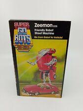 Super Go Bots Zeemon Tonka #7251, Nib 1984 Japan GoBot Robot Transformer.