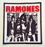 "Ramones Embroidered Applique Patch~3"" x 2 3/4""~Iron or Sew On~Ships FREE"