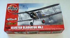 Airfix 1/72 scale Gloster Gladiator Mk.I plane kit