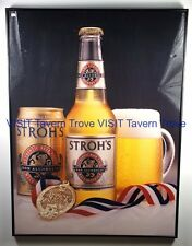 Large, In Charge Stroh's Na Great American Beer Festival Award sign Tavern Trove