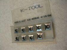 K Tool Speb 2522p A3m Carbide Insert 9pc Lot