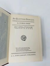 An Egyptian Princess  Georg Ebers Burt's Home Library Ca 1900