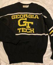 Vintage Georgia Tech Yellow Jackets Sweater Mens Size Large
