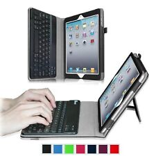 For Apple iPad 2 / 3 / 4th Gen w/ Retina Display Keyboard Folio Case Cover Stand