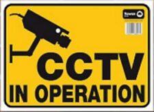 """""""Cctv en Operación"""" Señal de Advertencia Precaución Cámara viendo signos de alerta cuidado con Cam"""