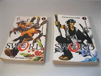 By The Sword Volume 1, 2 Manga Paperback Book bySanami MatohAnimae