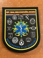 SPAIN PATCH POLICE POLICIA EMS EMERGENCY VIRUS PROTECTION - ORIGINAL!