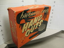Melville 1950s candy box halloween mask kid store display ghosts scary HAND OUTS