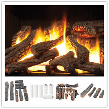 Ceramic Wood Logs and Accessories for All Types of Indoor Gas Inserts