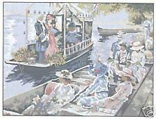 Boating Tapestry Needlepoint Canvas DMC