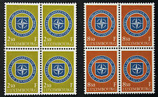 LUXEMBOURG timbres/Stamps Yvert et Tellier n°562 et 563 x4 n** (cyn8)