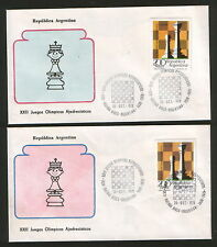 PHILIPPINES-2 COVERS-CHESS PLYMPIADS-1978.