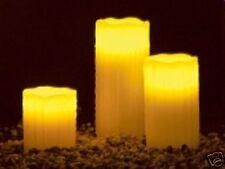 LED-Echtwachskerzen mit Candle-LED & Fernbedienung  NEU