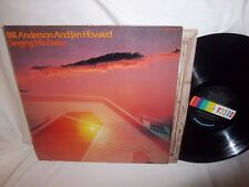 BILL ANDERSON/JAN HOWARD-SINGING HIS PRAISE DECCA DL 7-5339 SIGNED VG/VG+ LP