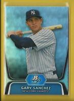 Gary Sanchez RC 2012 Bowman Platinum Prospects Rookie Card # BPP38 N Y Yankees