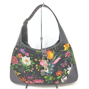 Gucci Shoulder Bag Jackie Multi Color Canvas 1602797