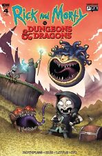 Rick and Morty vs Dungeons & Dragons #4 Mike Vasquez Variant - LTD 500 - Presale