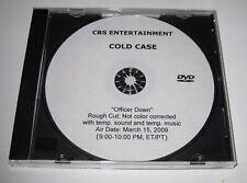 "COLD CASE w/ KATHRYN MORRIS Promotional DVD, Season 6 ~ 1 Episode ""Officer Down"""
