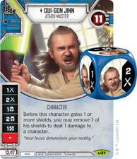 Qui-Gon Jinn - Ataru Master (Sold with matching Die) Awakenings Star Wars Destin