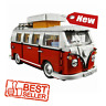 Technic Series 10220 1354pcs Technology Series Volkswagen T1 Camper Compatible