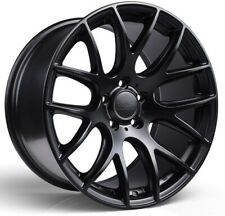 """Alloy Wheels 18"""" 3SDM 0.01 Black Matt For VW Golf R32 [Mk4] 02-04"""