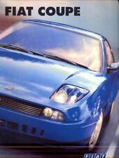 Fiat Coupe 2.0 20v & Turbo original sales brochure 1997 UK market