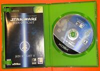 Star Wars: Jedi Knight II Jedi Outcast (Microsoft Xbox, 2002) Complete