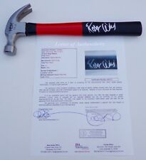 ROGER WATERS PINK FLOYD THE WALL SIGNED CUSTOM HAMMER JSA LOA Z27112