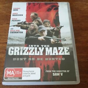 Into the Grizzly Maze DVD R4 VERY GOOD - FREE POST