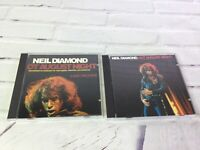 Neil Diamond Hot August Night 2 Disc Package CD Set 1985 MCA Records RARE