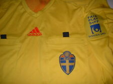 Sweden Sverige Adidas Referee Vintage Adult Xl Shirt Jersey Football Soccer Top