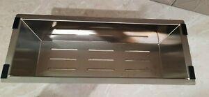 Oliveri Stainless Steel Colander 42.5cm long x 16.5cm wide x 12cm deep BRAND NEW