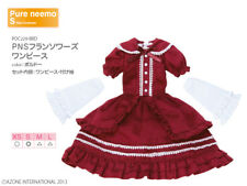 Azone Pure Neemo Ruruko Lolita dress outfit clothes Blythe Obitsu 1/6 figure