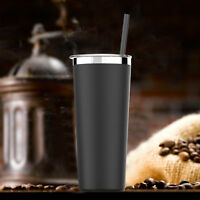 Simple HH Tumbler Vacuum Insulated Stainless Steel Coffee Cup With Straw 22OZ