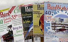 Paintworks Magazines Lot Of 5 - 2008 Decorative Painting Tole