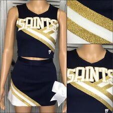 Cheerleading Uniform Saints Youth L