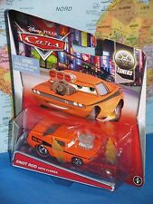 DISNEY PIXAR CARS SNOT ROD With FLAMES #2/8 TUNERS ***BRAND NEW & VHTF***