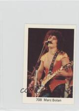 1974 1974-81 Dutch/Swedish Stars Gum No Period After Number #708 Marc Bolan f5h