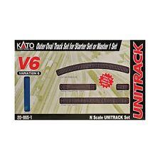 Kato 20-865-1, N Scale UniTrack V6 Outside Loop Track Set, 208651