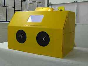 Blast-a-way Collapsible Sand-Blasting Cabinet - Or Paint, Crafts, Hobbies etc.