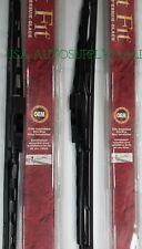 "2X Trico Exact Fit Windshield Wiper Blade Metal Framed 24"" & 22"" Set 02 L+R"