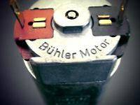1x Power Bühler-Motor 51618 NOS 3-24V 12V/12000U/min z.B. Gartenbahn LGB Spur G