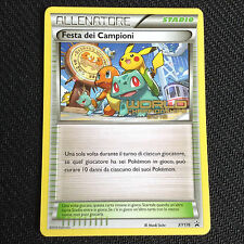 Pokemon Card CHAMPIONS FESTIVAL XY176 FESTA DEI CAMPIONI WORLDS 2016 - ITALIAN