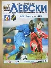 UEFA EUROPA LEAGUE 2010-LEVSKI SOFIA V AEREI DI LINEA Stoccolma