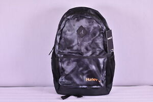 Hurley Mater Printed Backpack, Black / Grey Camoflauge