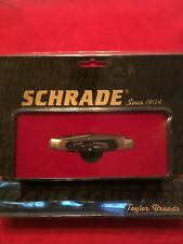 Schrade Old Timer 50th Anniversary 2 Knife Blades 940TBLT Stainless Steel NIB