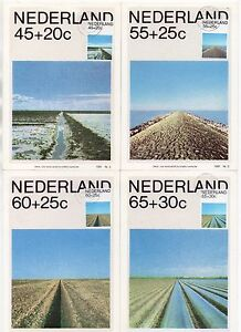 1981 NETHERLANDS - 4 x First Day Cover PHQ Postcards WELFARE FUND