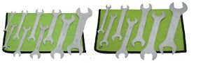 GRIP 16pc Thin METRIC/SAE Wrench Set Tools Wrenches Open End 8mm-32mm 3/8-1 1/4