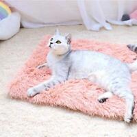 Puppy Blanket Pet Soft Fluffy Mattress Cosy Warm Dog Cat Bed Mats E4X6 U4K8